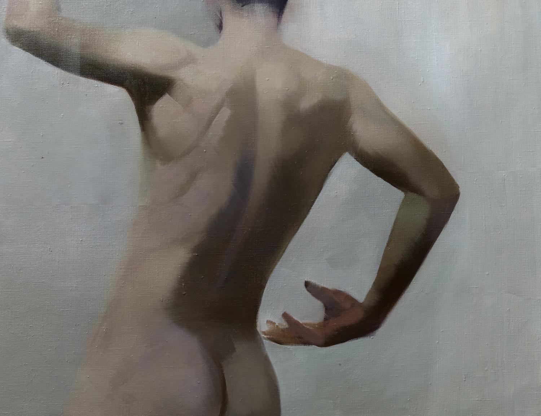 картина чоловіче ню сучасний живопис