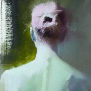картина жіночий портрет зі спини